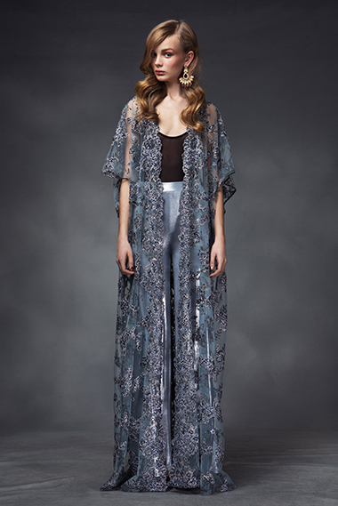 Enlightenment cape, suki trousers