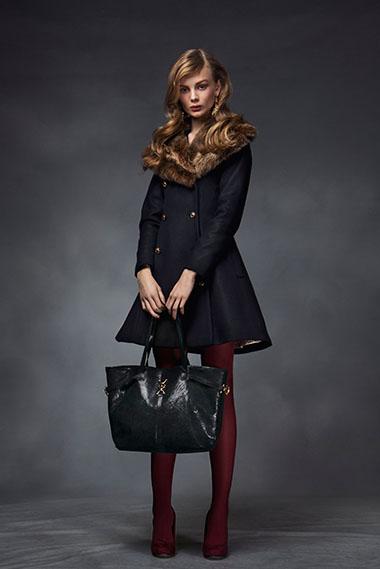 Joceline coat, paparazzi bag