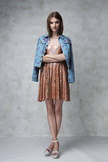 Dancer dress, Bridge jacket