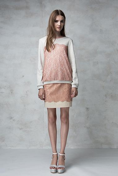 Dreamer sweater, Frame skirt