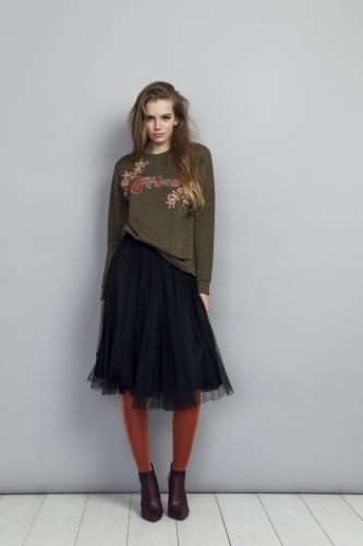 Belladonna Sweater, Flawless Skirt