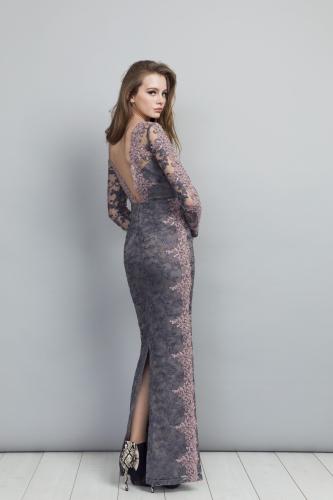 Isabel Dress back view
