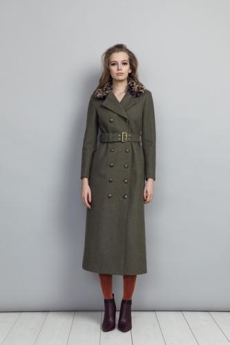 Jules Coat Green