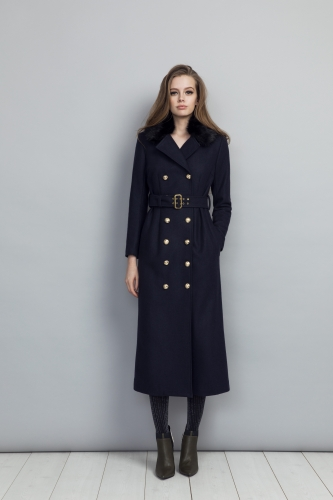 Jules Coat Navy