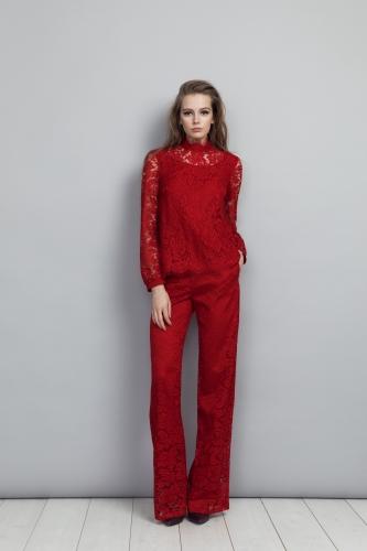 Keri Blouse, India Trousers