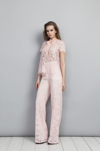 Nina Top Pink India Trousers Pink