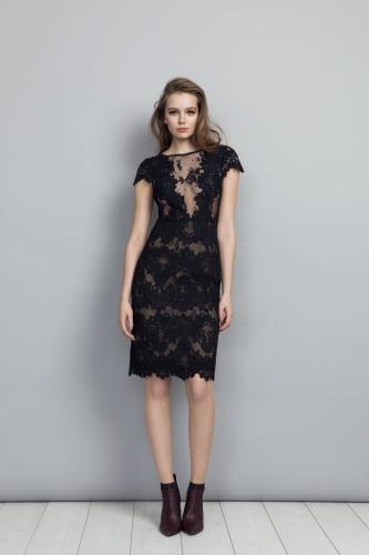 Sabine Dress Black
