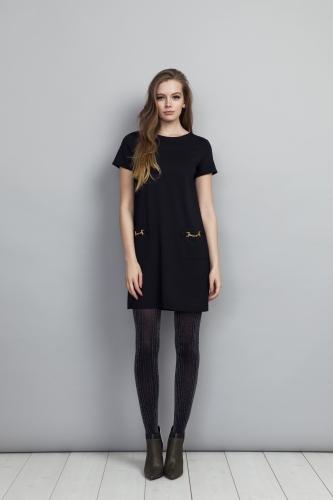 Teardrop Dress Black