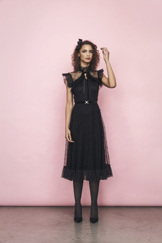 Betina Dress Black
