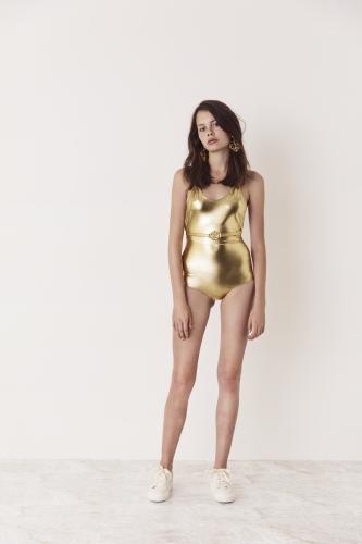 Birdie Swimsuit Gold