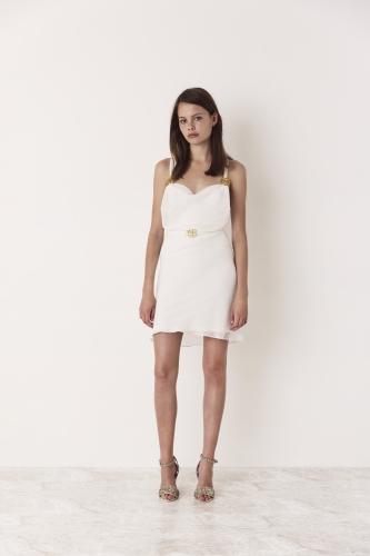 Blaine Dress Ivory