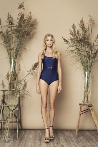 Bella Swimsuit Navy