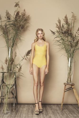 Bella Swimsuit Yellow