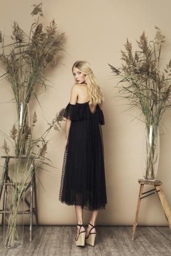 Elise Dress Black