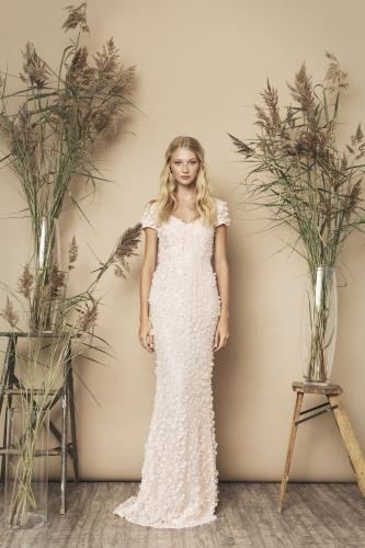 Gigi Dress 3d Soft Pink