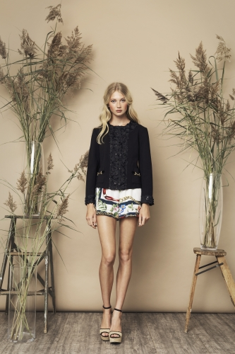 Goldie Jacket Olive Shorts