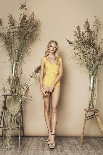 Marta Swimsuit Yellow
