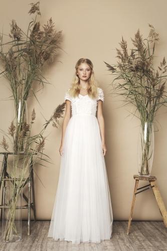 Meghan Dress Ivory