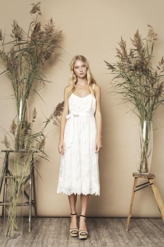 Melodie Dress Ivory