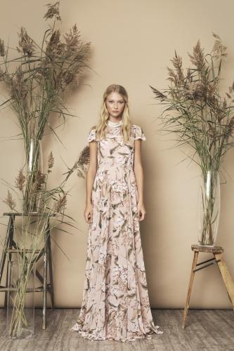 Palace Dress Beige Floral