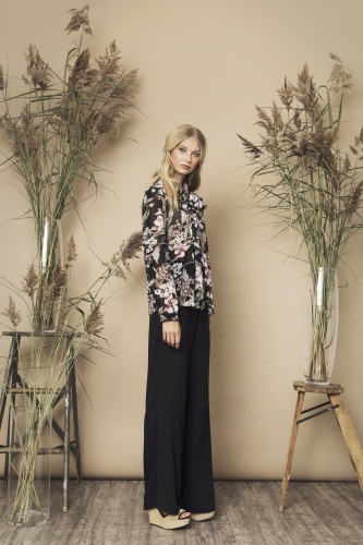 Peony Blouse Multi Scout Trousers