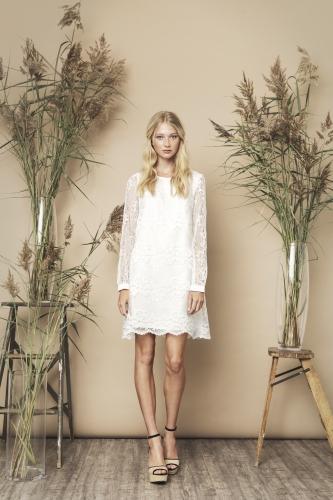 Sasha Dress Ivory