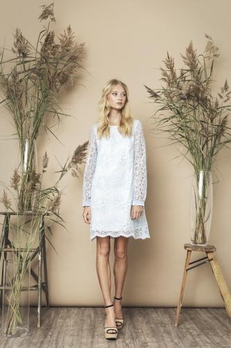 Sasha Dress Pale Blue