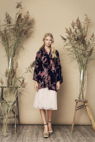 Scarlett Kimono Shimmer Skirt