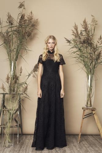 Siren Dress Black
