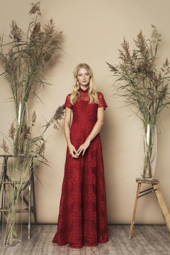 Siren Dress Red