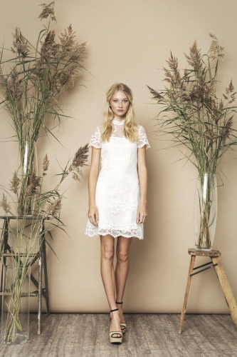 Sutton Dress Ivory