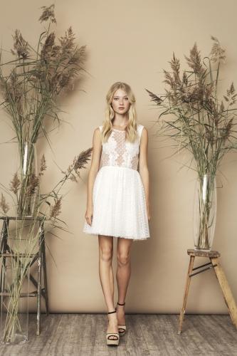 Trixie Dress Ivory