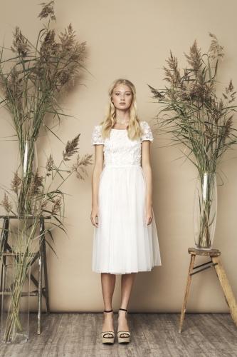 Yasmin Dress Ivory