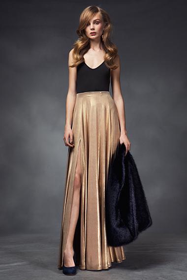 Poser skirt, powder cape