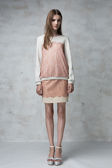 Dreamer sweater, Frame skirt