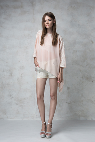 Hampton top, Havanna shorts