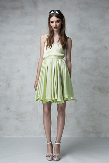 Whipped dress